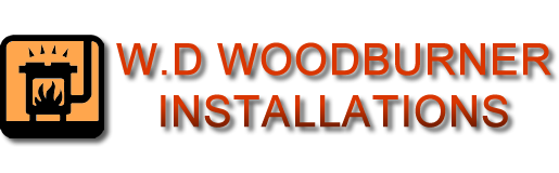 W.D Woodburner installations logo image